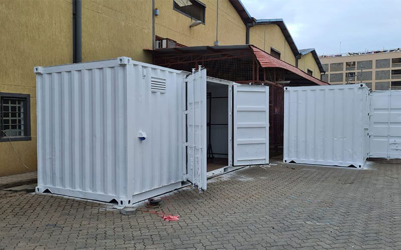 After Container Conversion