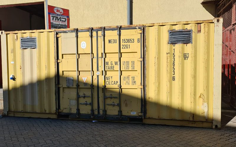 Before container conversion