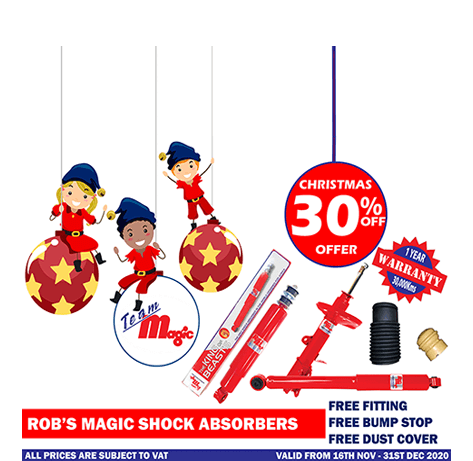 Shocks and Springs Christmas Offer 2020