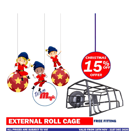 External roll cage Christmas offer 2020