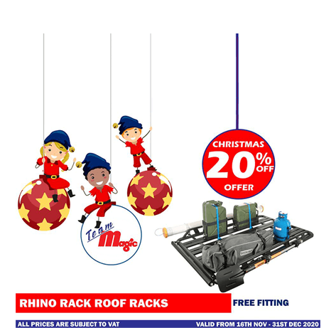 rhino rack roof racks Christmas offer 2020