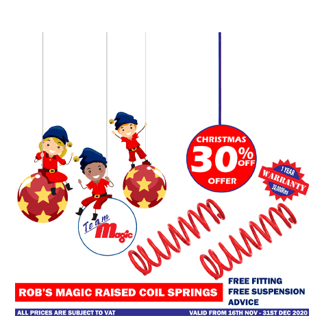 Rob's Magic raised coil springs Christmas Offer 2020