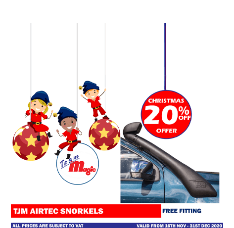 tjm airtec snorkels christmas offer 2020